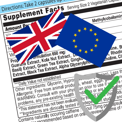 FORMULATION COMPLIANCE - UK/EU