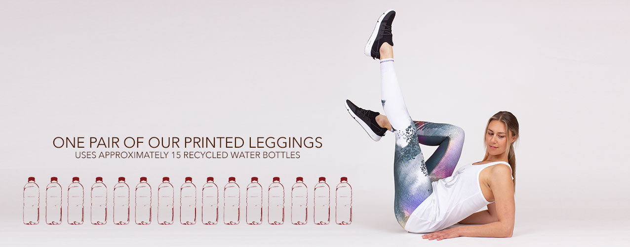 Eco friendly Printed yoga leggings