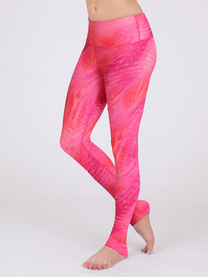 High Waisted Ferocity Leggings Wisteria