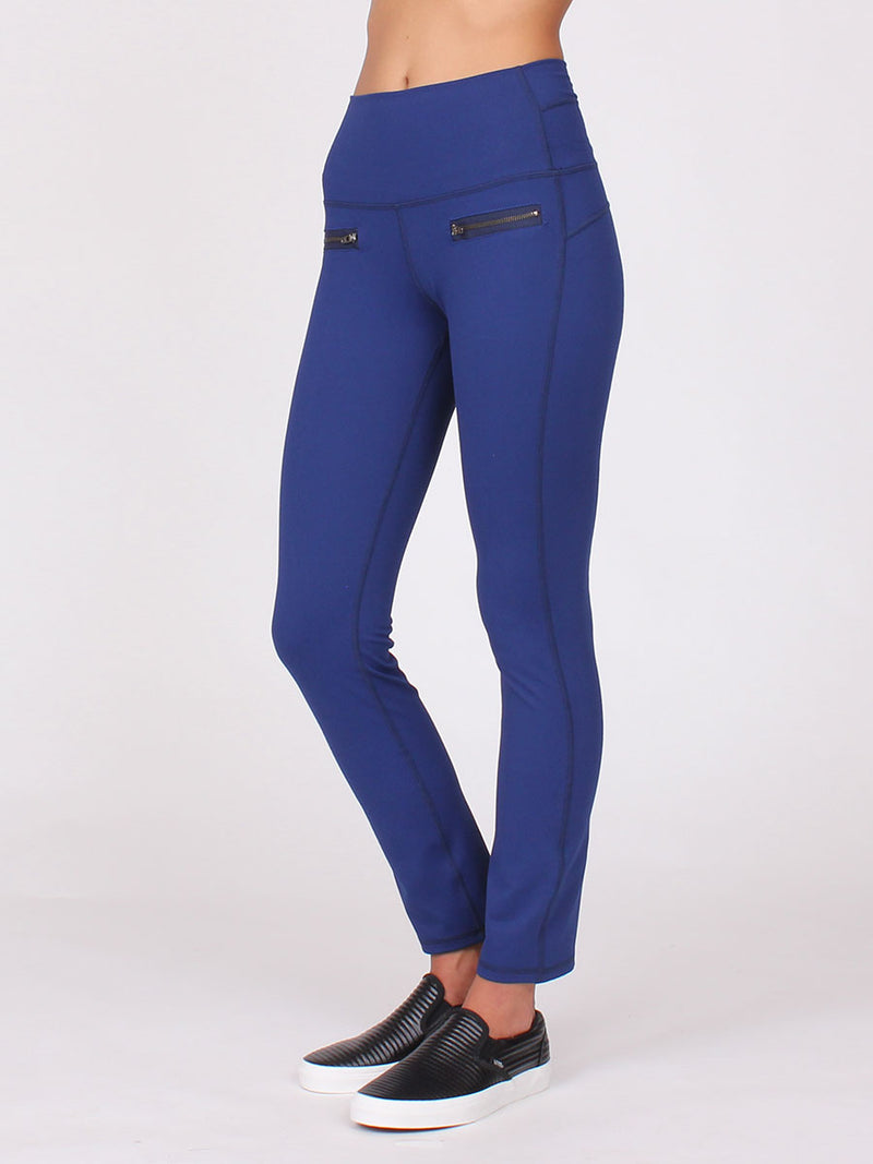 The Zen City Pant in Midnight