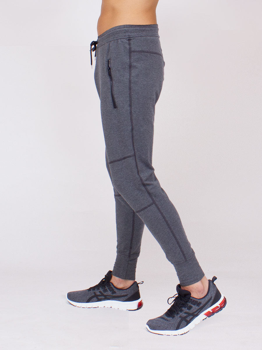 The Everyday Pant for Men in Charcoal Heather French Terrie