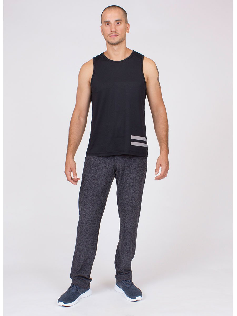 The GoTo Pant in Charcoal