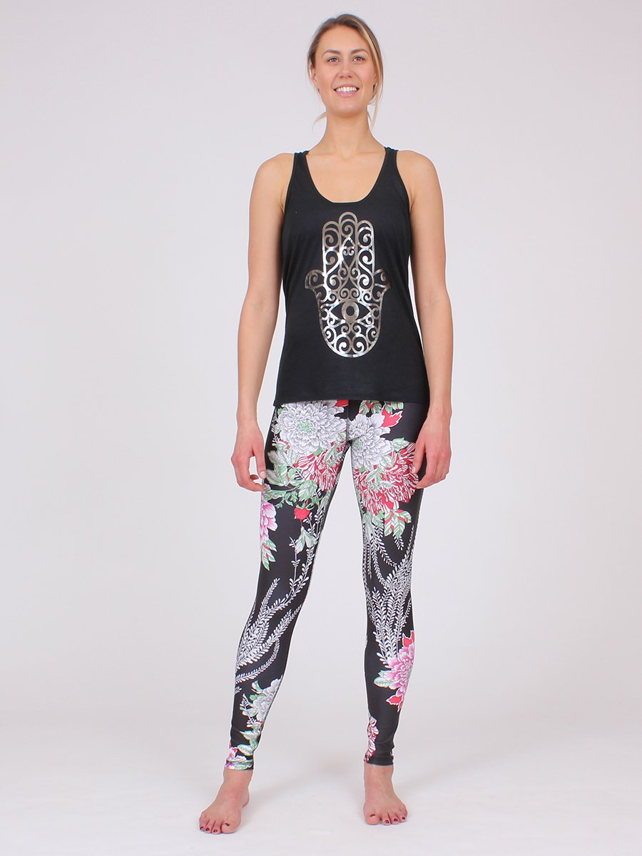 Ferocity Yoga Leggings in Japonica