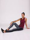 The High Beam Leggings in Lava