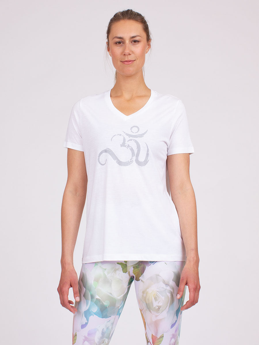The Ohm Tee in White