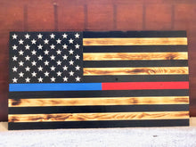 Load image into Gallery viewer, Thin Line Series American Flag for Police/Fire/EMS