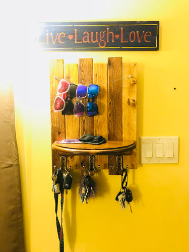 Handmade Key Rack