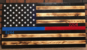 Thin Line Series American Flag for Police/Fire/EMS