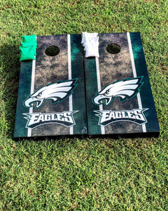 Philadelphia Eagles Cornhole Boards