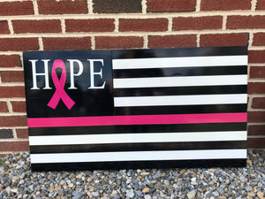 HOPE Cancer Awareness Series Flag