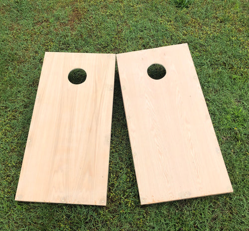 Unpainted Non-Painted Unfinished DIY Cornhole Boards