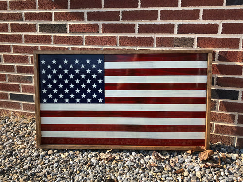 Framed Series Classic American Flag