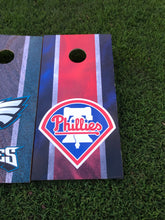 Load image into Gallery viewer, Philadelphia Eagles / Philadelphia Phillies Cornhole Boards