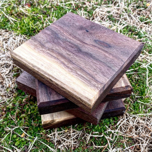 Black Walnut Coasters