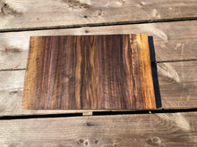 Load image into Gallery viewer, Live Edge Black Walnut Cutting / Cheese Board