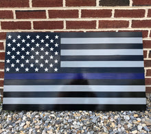 Load image into Gallery viewer, Steel Series Thin Line American Flag for Police/Fire/EMS