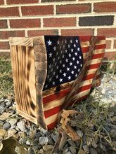 Load image into Gallery viewer, Waving American Flag Concealment Box