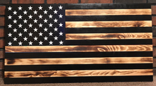 Load image into Gallery viewer, Subdued Rustic American Flag Series