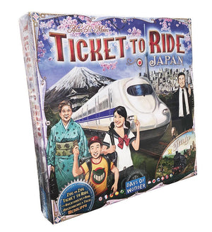 Ticket to Ride Japon/Italy