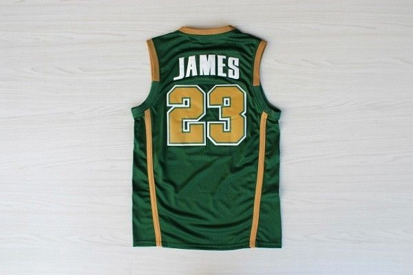 #23 Lebron James's Retro Highschool Jersey