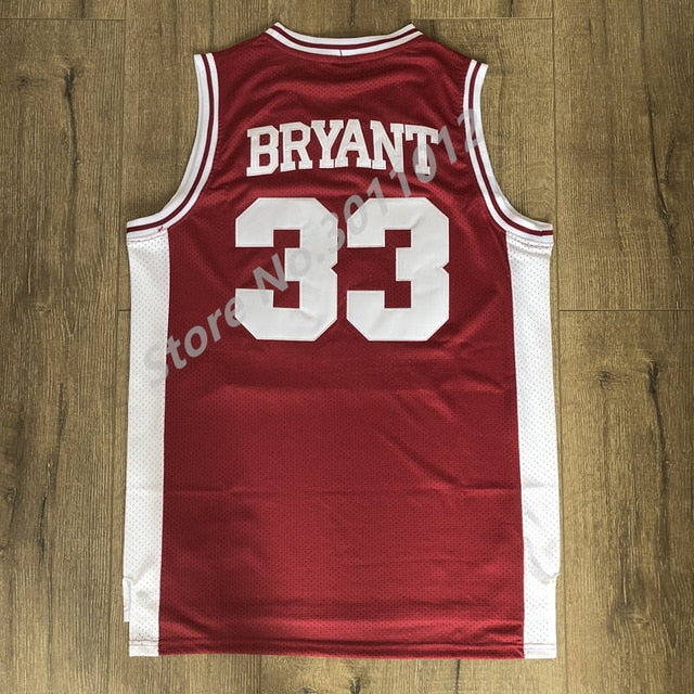 #33 Kobe Bryant's Retro Highschool Jersey