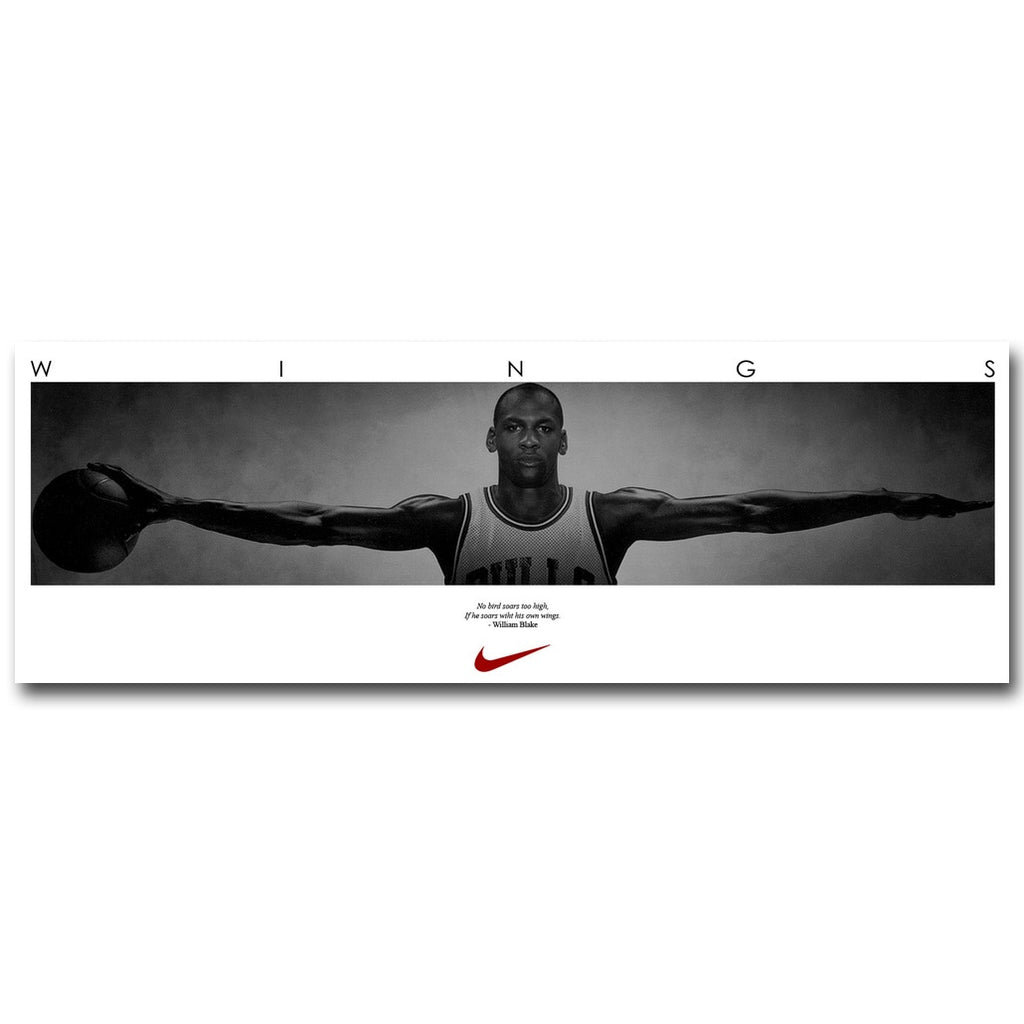 "MJ 'Wings"" Poster"