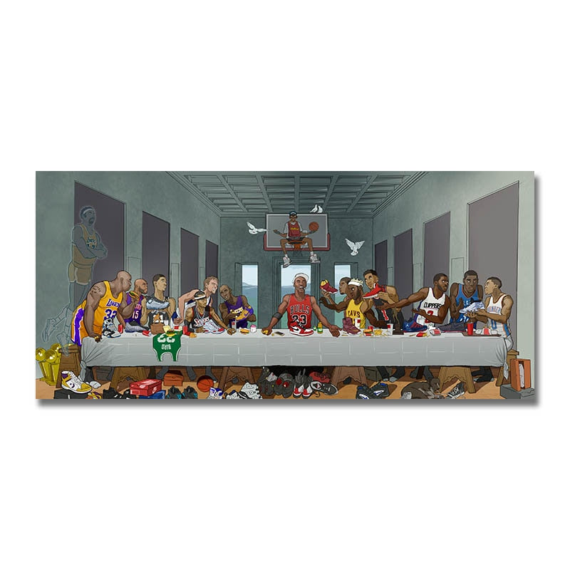 The NBA's Last Supper