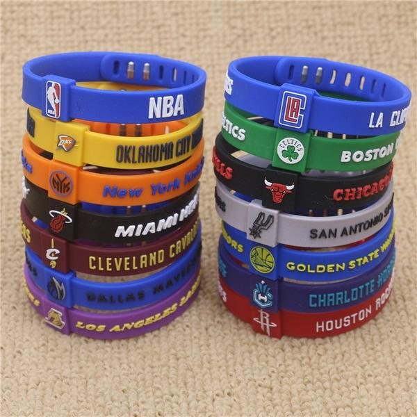 """Fav Team"" Wristbands"