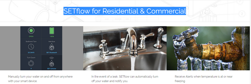 SETflow for Residential & Commercial Product