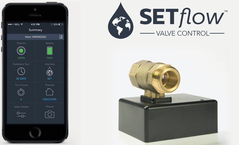 SETflow™ 100 Smart Valve