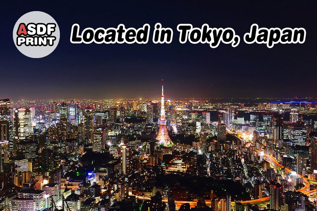 Best Personalized Gift Store - ASDF Print - Located in Tokyo, Japan