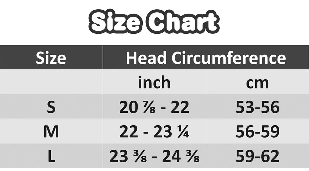 Personalized Face Photo Beanie - Size Chart - ASDF Print