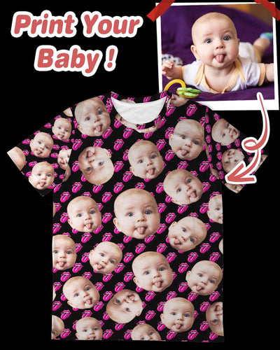 Personalized Many-Face Unisex All Over T-Shirt | Custom-Made Products | ASDF PRINT