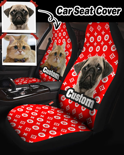 Personalized Car Seat Cover - Custom Messages | Custom-Made Products | ASDF PRINT