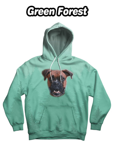 Personalized One-Face Standard Hoodie (Front-Print) | Custom-Made Products | ASDF PRINT