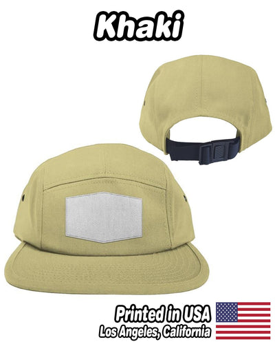 Personalized Patch 5 Panel Hat | Custom-Made Products | ASDF PRINT