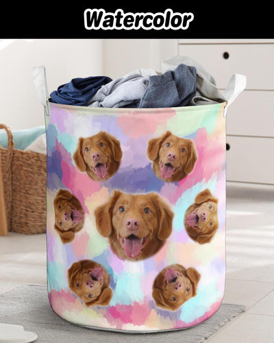 Personalized Many Face Laundry Basket | Custom-Made Products | ASDF PRINT