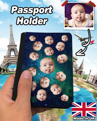 Personalized Many Face Passport Holder | Custom-Made Products | ASDF PRINT