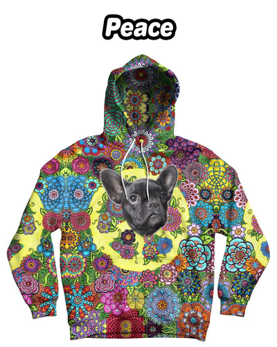 Personalized One-Face Standard Hoodie (Front-Print) - ASDF Print