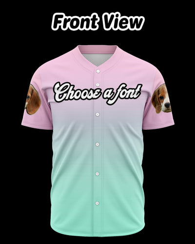 Personalized Unisex Baseball Jersey | Custom-Made Products | ASDF PRINT