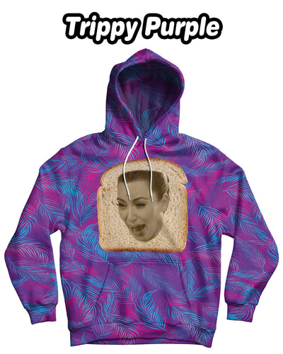 Personalized Bread Face Standard Hoodie - Baked Face (Front Print) | Custom-Made Products | ASDF PRINT