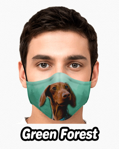 Personalized Fashion Face Mask - Upper Body | Custom-Made Products | ASDF PRINT
