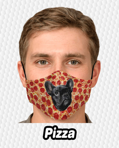 Personalized Fashion Face Mask - One Face | Custom-Made Products | ASDF PRINT