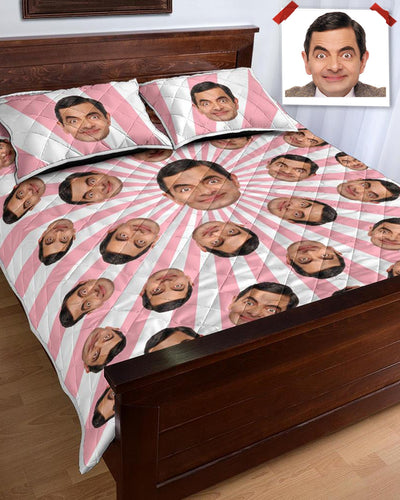 Personalized Many Face Quilt Bed Set | Custom-Made Products | ASDF PRINT