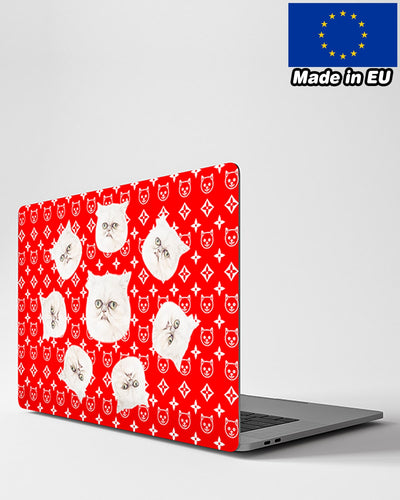 Personalized Many Face MacBook Case - Top & Bottom | Custom-Made Products | ASDF PRINT