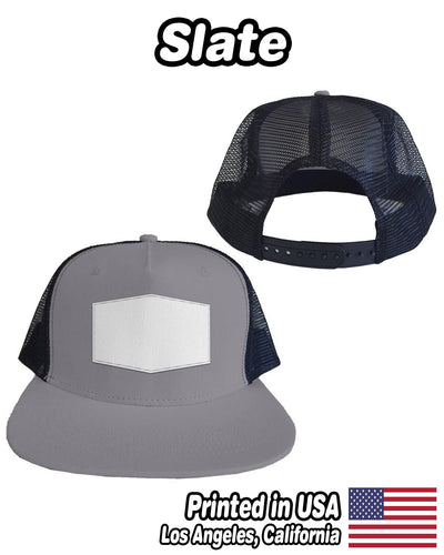 Personalized Patch Snapback - Trucker Mesh Hat | Custom-Made Products | ASDF PRINT