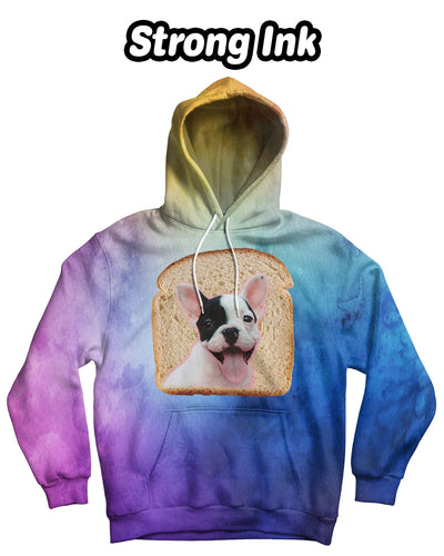 Personalized Bread Face Standard Hoodie - Upper Body (Front Print) | Custom-Made Products | ASDF PRINT
