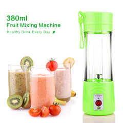 Portable USB Juicer ,Blender and Mixer 380ml with USB Charger (1 Year Warranty)