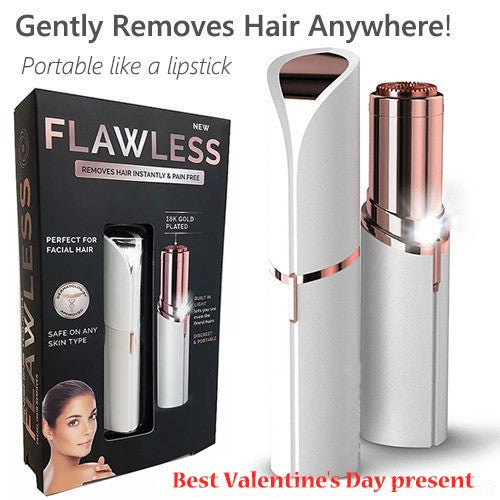 Women Facial Painless Hair Remover Lipstick Razor Automatic Hair Removal Device