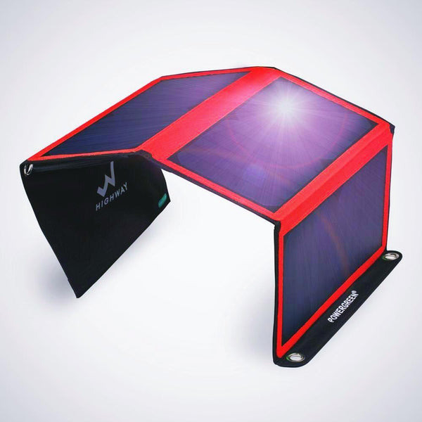 Solar Power Charger 21W / Stylish Design